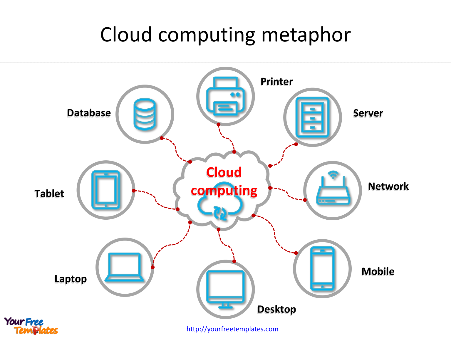 cloud computing powerpoint templates free powerpoint
