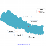 Nepal_Outline_Map