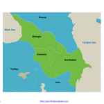 Caucasus_Political_Map_with_country_names