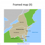 Framed_US_map_State_Map_for_Mid_Atlantic_States