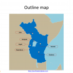East_African_Community_Outline_Map
