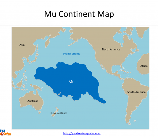Continents Archives Free PowerPoint Templates - Free continent maps