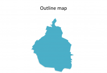 India Map blank templates - Free PowerPoint Templates on